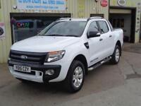 Ford Ranger 4x4 Wildtrak Double Cab 3.2TDCi ( 200PS ) ( EU5 )2015 48K