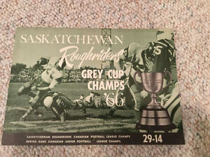 1966 Saskatchewan Roughrider Team Calendar