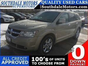 2010 DODGE JOURNEY R/T * AWD * 1 OWNER * SUNROOF * HEATED SEATS