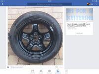 Spare wheel for Vauxhall Zafira