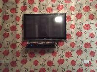 "Black LG TV 55"" Good condition!!"