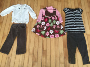 Girls size 2 outfits