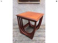 Classic G Plan Fresco Teak Nest Of Tables Retro Mid Century Vintage 1970's