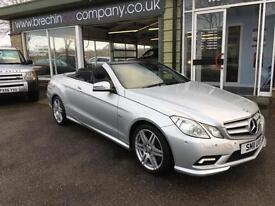 Mercedes-Benz E 220CDI SPORT CABRIOLET- FINANCE AVAILABLE