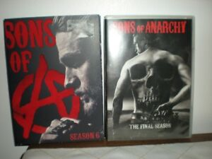 Sons of Anarchy DVD  Seasons 6 & 7