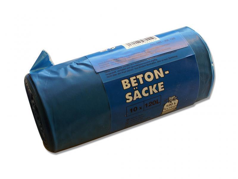 50x Betonsack 120 Liter - Abfallsäcke - Extrem Stark - TYP100 - Müllbeutel - Neu