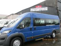 PEUGEOT BOXER 440 L4H2 HDI 17 SEATER MINIBUS WITH WHEELCHAIR ACCESS