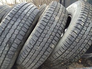 3 10 ply 235/85/16 trailer tires