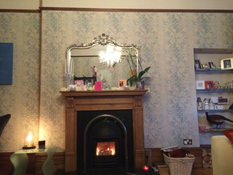 3 New Laura Ashley Fitzroy Bluecream Wallpaper Save 79 In