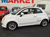 2010 FIAT 500 1.2 Lounge Dualogic Auto From GBP7550+Retail package.