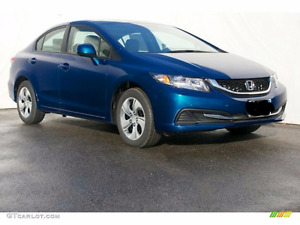 2013 Honda Civic LX Sedan 38,000km