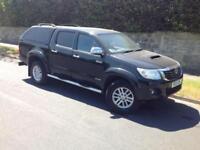 2013 TOYOTA HILUX D/C 3.0 D4-D INVINCIBLE AUTO 4X4 BLACK