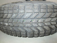 Firestone Winter force Tires P205/75/R15 on Steel Rims