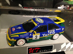 1/18 DIECAST UT/MINICHAMPS FORD ESCORT COSWORTH WRC YACCO MINT