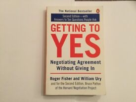 """Book """"Getting to Yes"""""""
