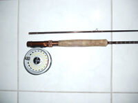 Canne moulinet a mouche a Truite (Angleterre), Fly rod reel