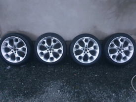 "Ford Kuga Snowflake Alloy Wheels 19"" 5x108"