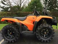 Honda TRX420FM1 Fourtrax / Rancher ATV Quad Bike - 2017 - Loads Of Extras