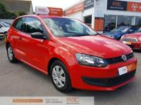 VOLKSWAGEN POLO S Red Manual Petrol, 2012
