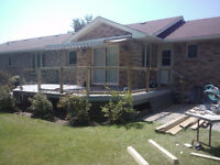 Quality Carpentry Work, Residential, Renovation/Construction