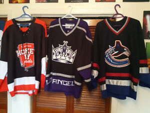 8 Hockey Jerseys for sale, NHL and others