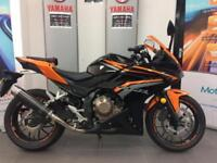 HONDA CBR500R ONLY 1200 MILES 1 OWNER IMMACULATE P/X WELCOME