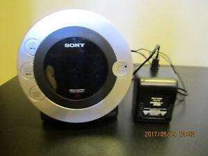 SONY Radio réveil matin 2 alarmes +cd