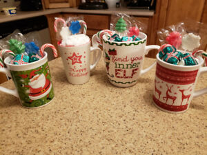 Hot chocolate gift mugs