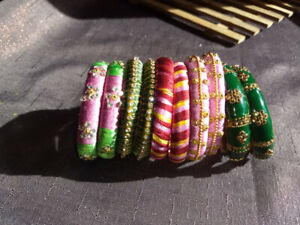 Indian Handmade Bangles- Looks pretty on any women or young teen