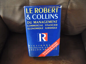 Robert & Collins French/English Dictionnary
