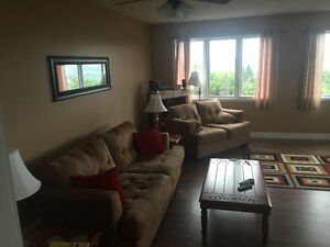 furnished 2 bedroom above ground apartment