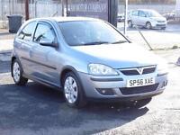 Vauxhall Corsa 1.2i 16v ( a/c ) 2006MY SXi+, Grey, 2006, 6 Months AA Warranty