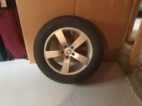 Winter Alloy Rims and Tires