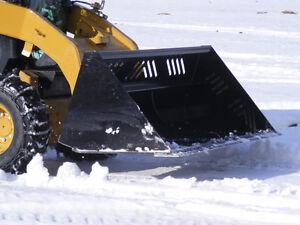 Conterra Skid Steer Snow Bucket Starting at $2,399.00 Regina Regina Area image 2