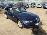 BMW Z3 1.9 Convertible Sports Car With Only 122K & March 17 Mot