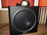POLK PSW 110 Subwoofer used for 6 months loved it but upgraded