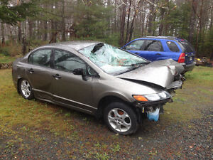 2008 Honda civic. ( smashed)