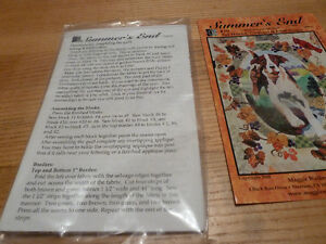 Quilt Block pattern for Fox Hound and Grapes New in Package Kingston Kingston Area image 2
