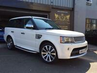 2010 Land Rover Range Rover Sport 3.6TD V8 Autobiography Sport LE in WHITE