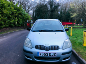 TOYOTA YARIS 2004 5DR PETROL 90K MILES 12 MONTH MOT IDEAL FIRST CAR