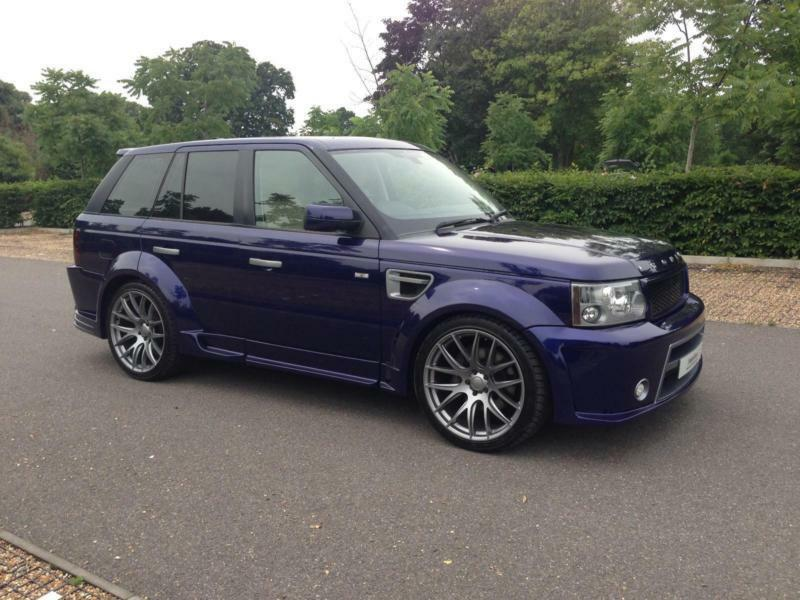2008 bali blue land rover range rover sport 3 6 tdv8 autobiography in brentford london gumtree. Black Bedroom Furniture Sets. Home Design Ideas