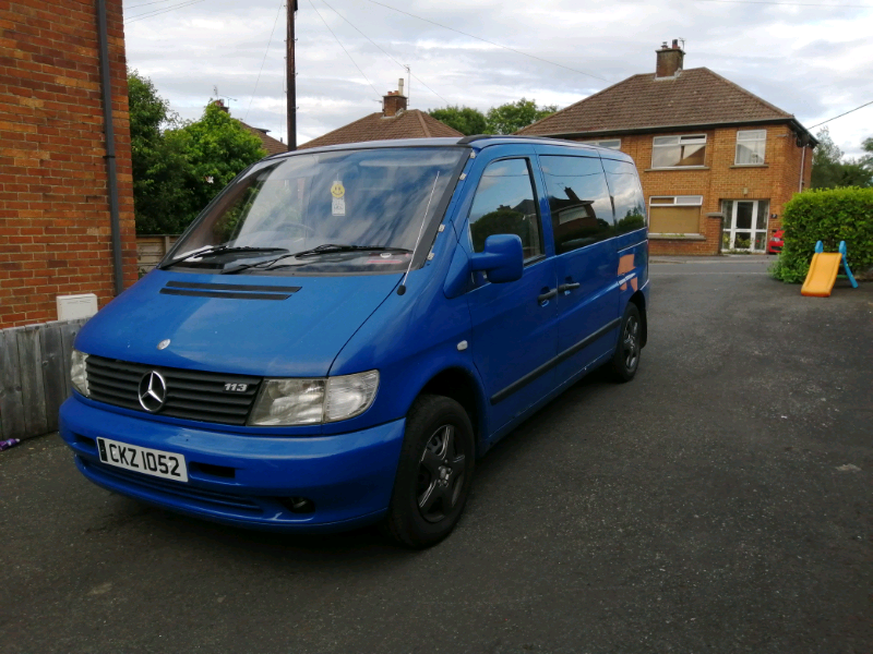 Mercedes vito traveliner. 1998. Low mileage. | in Bangor, County Down | Gumtree