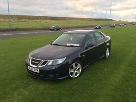 Saab 9-3 1.9 TTiD Turbo special edition drives perfect stunning car long MOT. PRICED REDUCED