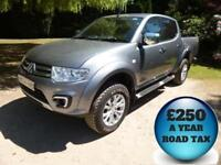 2015 Mitsubishi L200 2.5DI-D CR 175 Barbarian Auto Double Cab 4x4 Pick Up Diesel