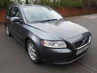 Volvo V50 2.0D 2008MY S. 12 STAMPS IN SERVICE BOOK. FULL HISTORY. MOT, 04/2018