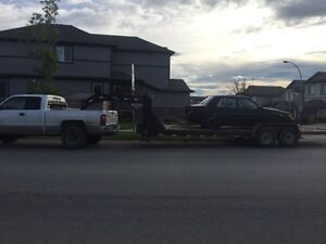 Cheap trailer towing and scrap metal removal