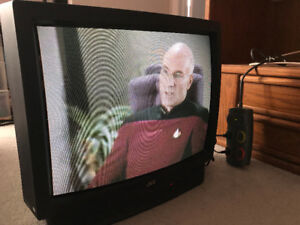 """27"""" JVC CRT TV in great condition"""