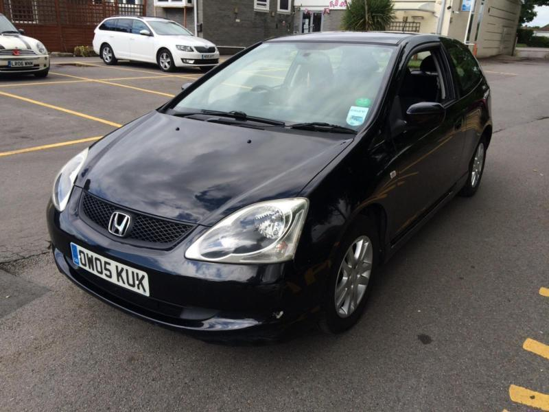 Honda Civic 1.7 DIESEL 2005 COMPLETE WITH M.O.T HPI CLEAR WARRANTY INCLUDED