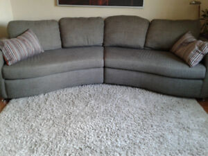 Curvy couch