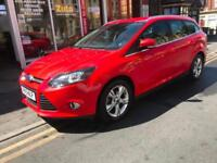 2013 Ford Focus 1.0 SCTi ( 125ps ) EcoBoost Zetec £30 tax FULL FORD HISTORY